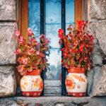 Vasen aus Bastelbeton